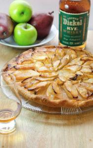 George Dickel Rye French Apple Pear Tart