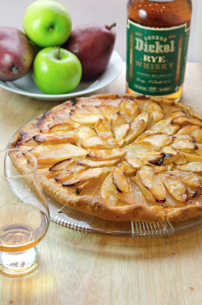 George Dickel Rye French Apple Pear Tart