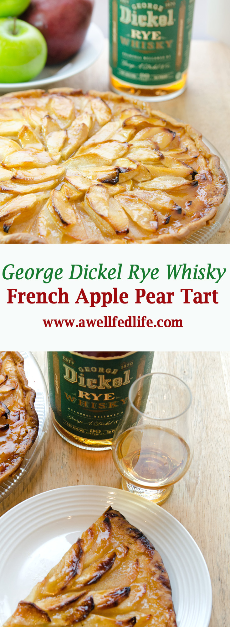 Pinterest George Dickel Whisky Apple Pear Tart