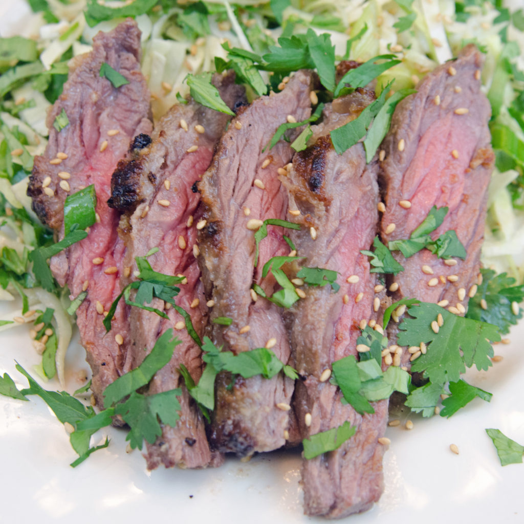 Wasabi Ginger Skirt Steak