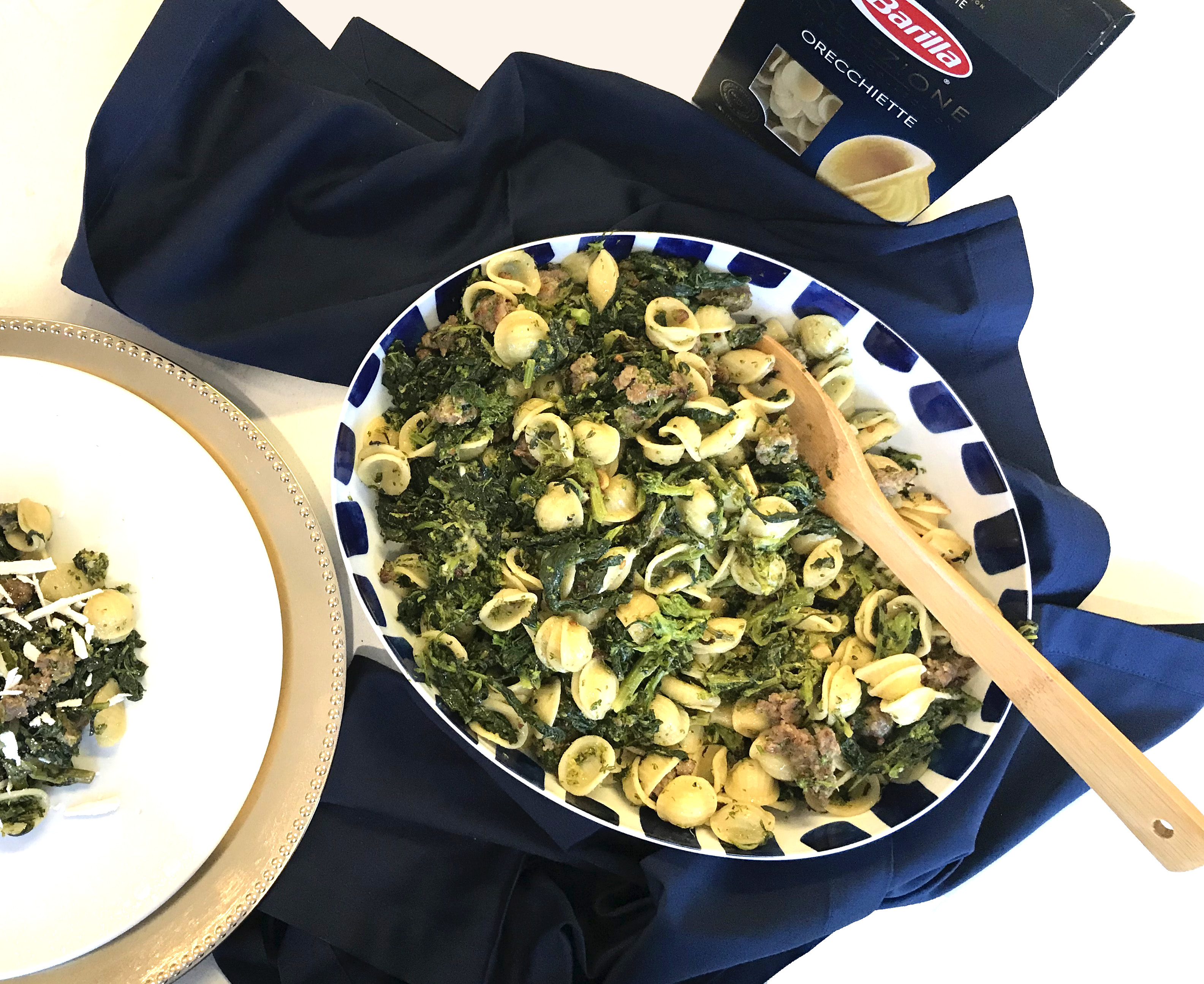 Barilla Pasta with Broccolini and Sausage