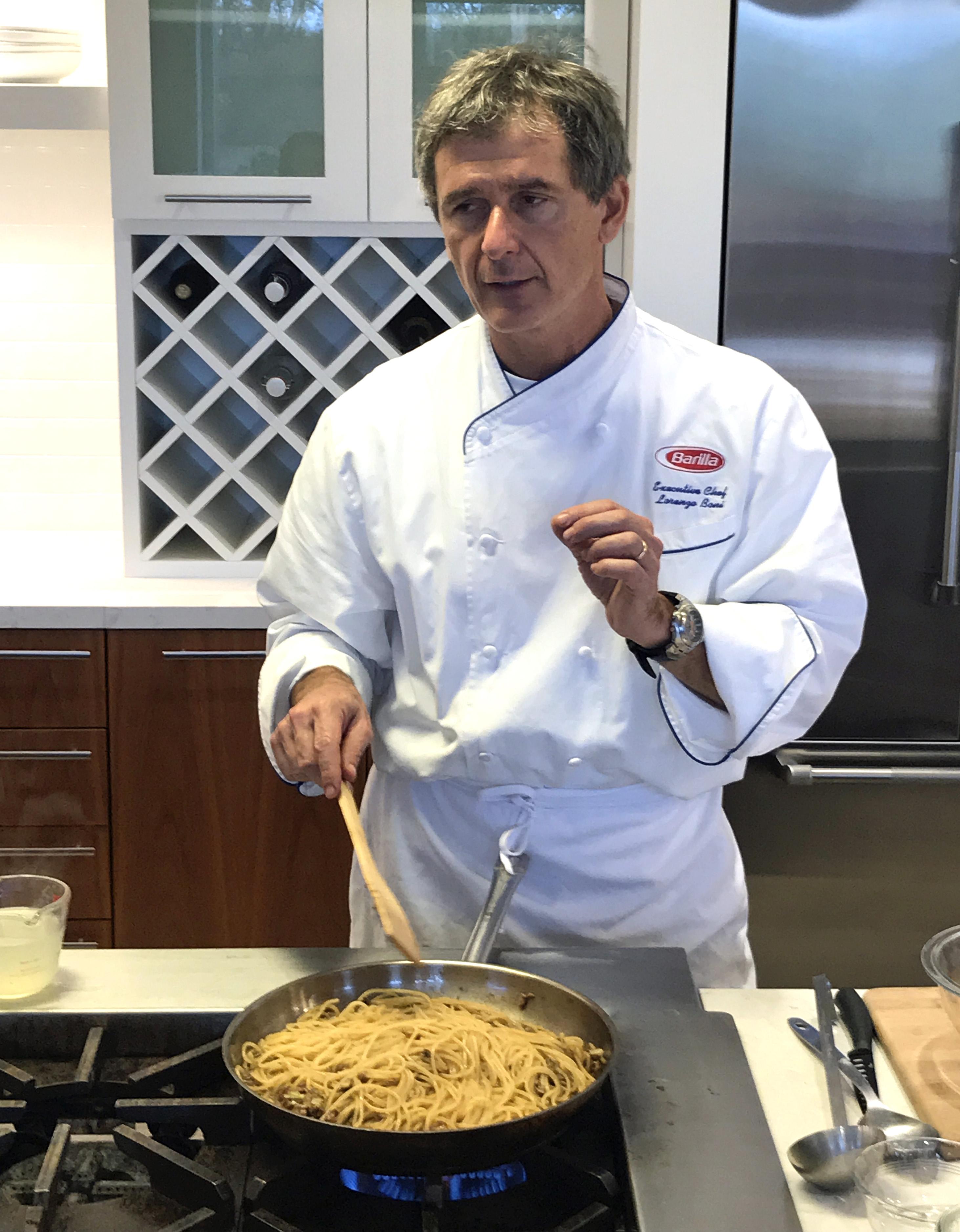 Chef Boni Barilla