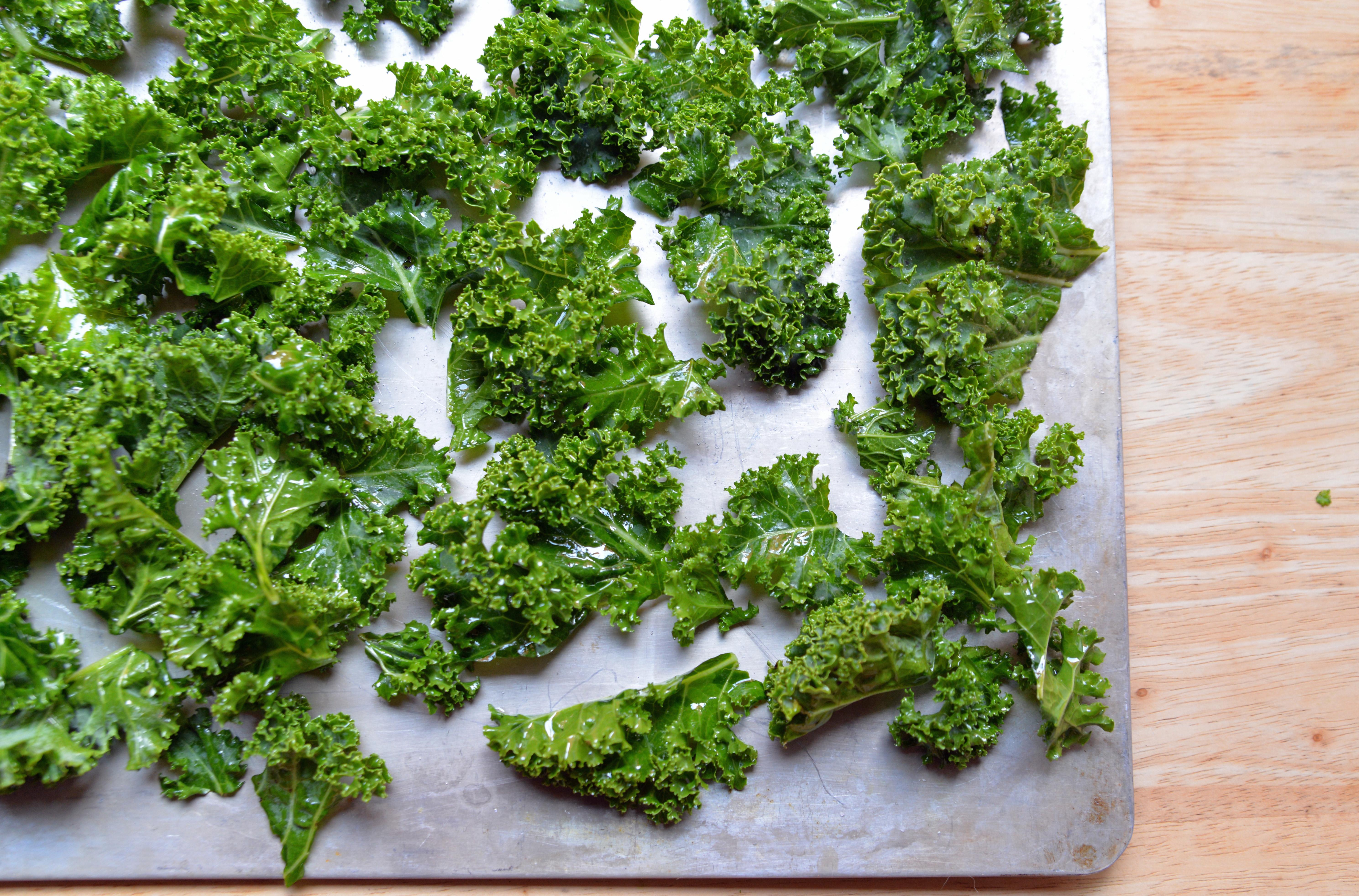 Kale Chips DO NOT Overlap