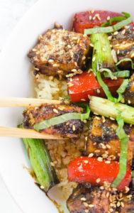 Black Bean and Garlic Tofu
