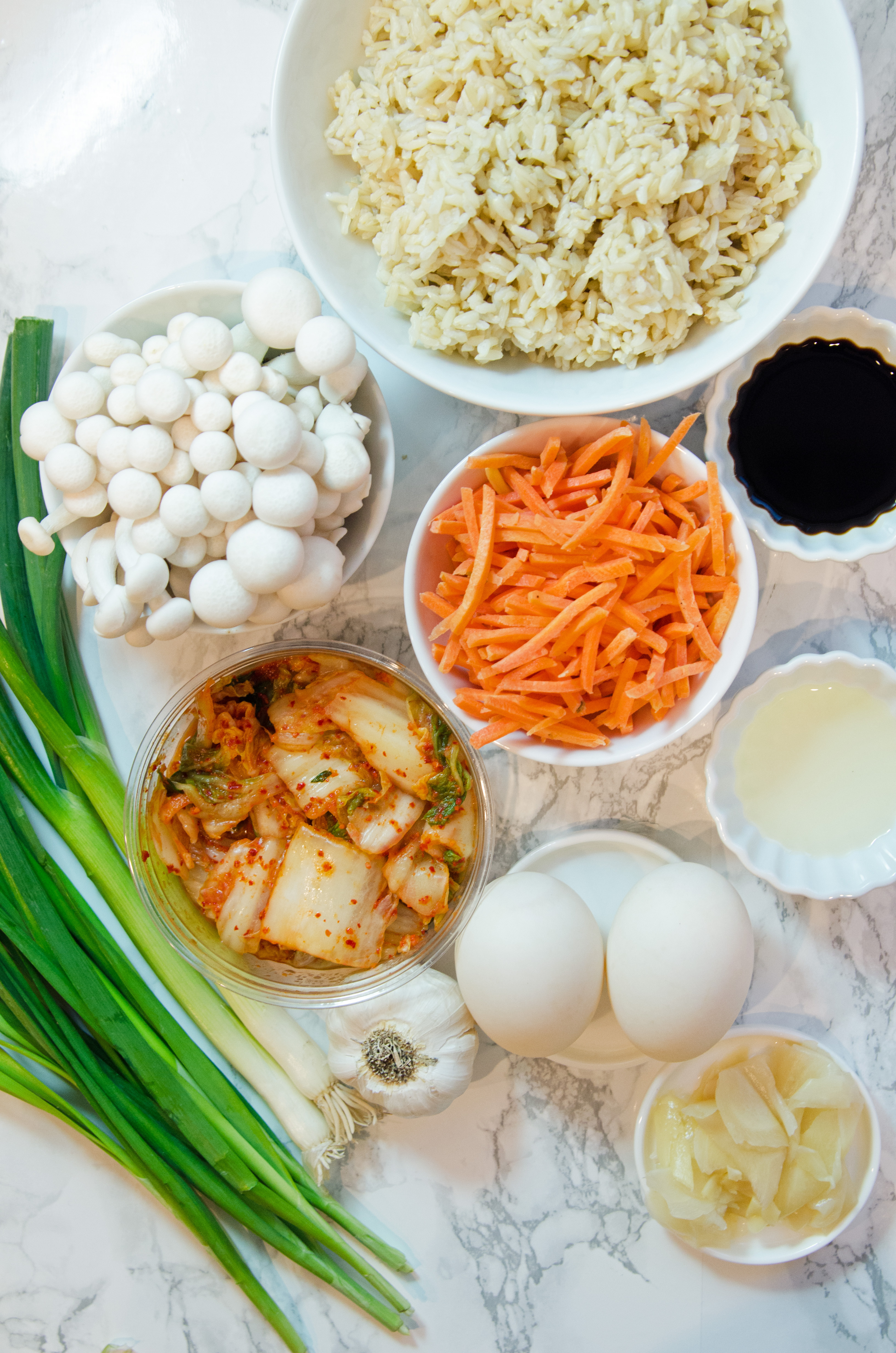Ingredients Kimchi Fried Rice