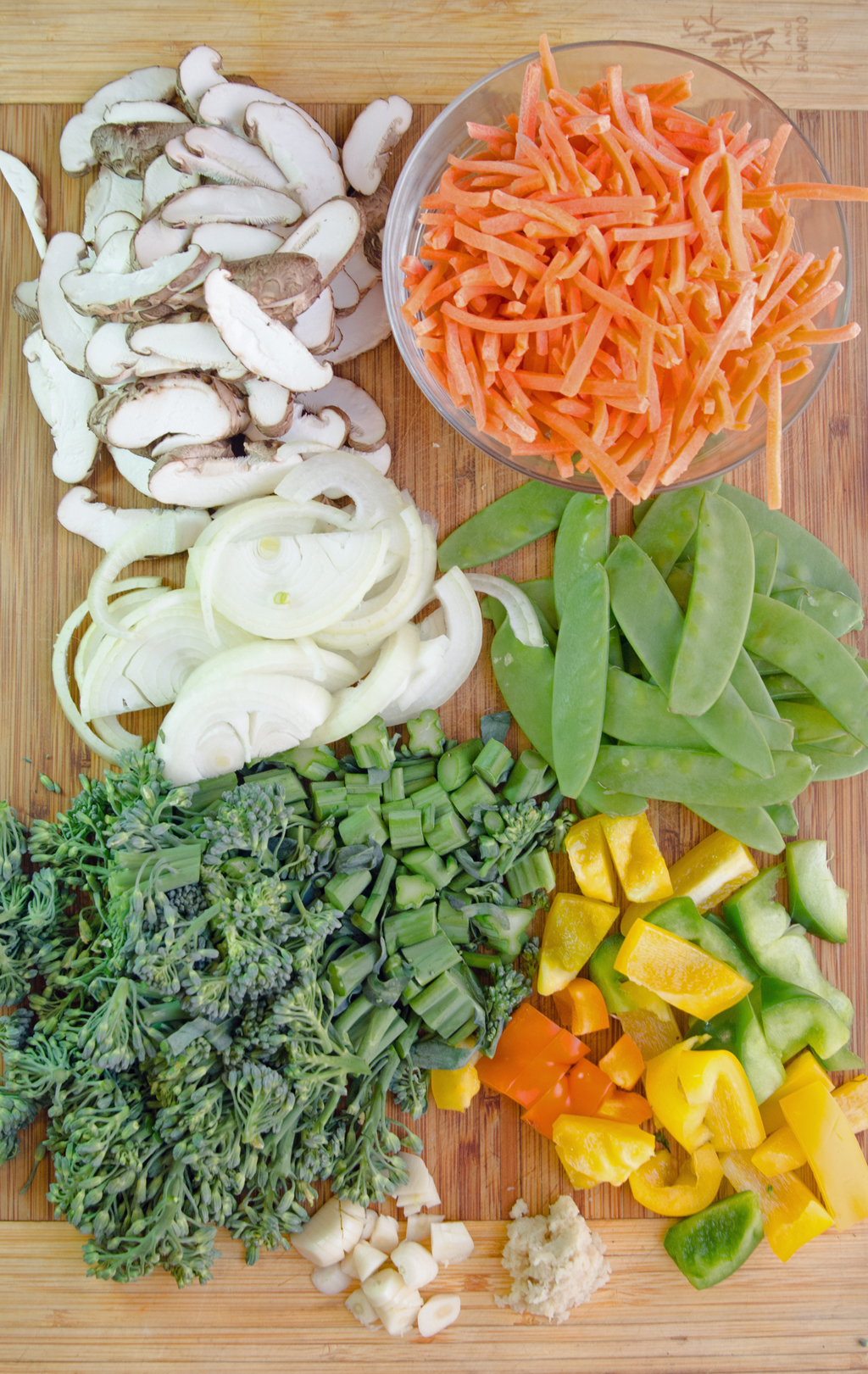 Ingredients Vegetable Stir-fry