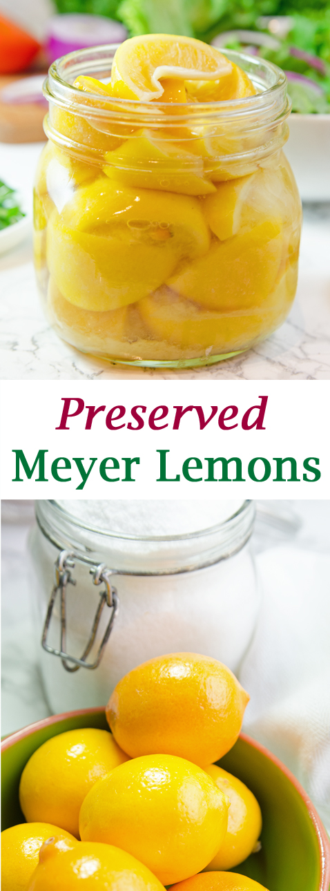 Preserved Meyer Lemons