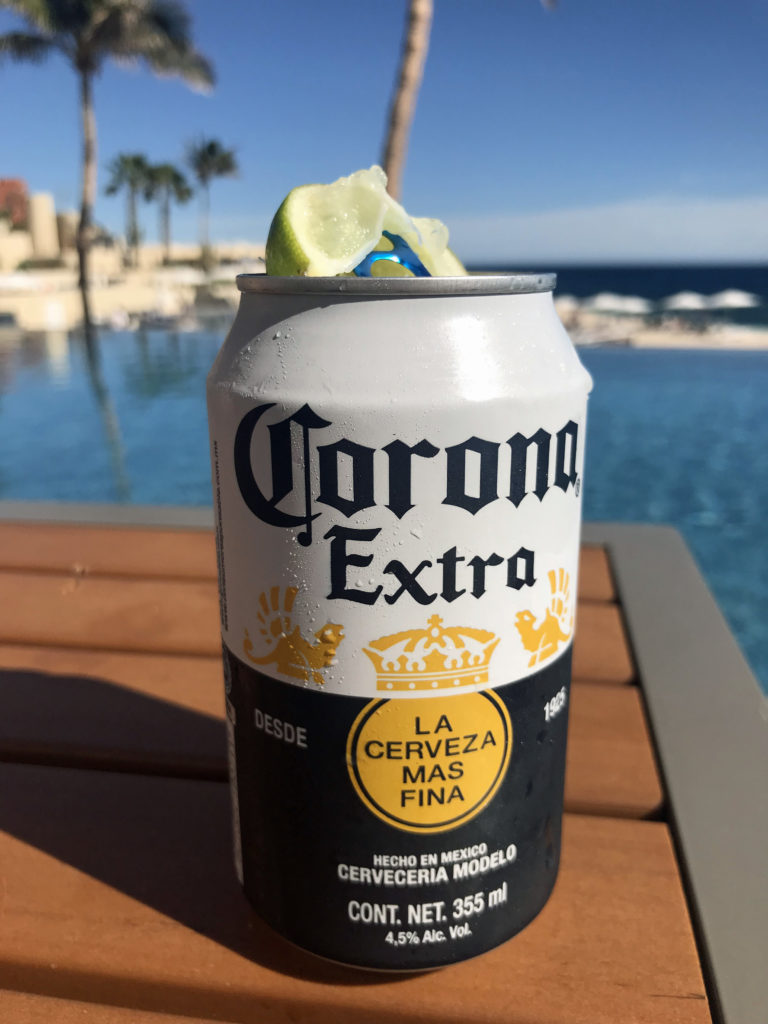 What to Eat and Drink in Los Cabos, Mexico - Pool Side Corona Los Cabo