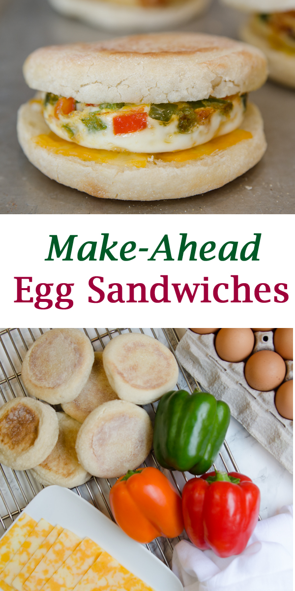 Pinterest Make-Ahead Egg Sandwiches