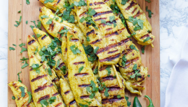 Healthy Chicken Satay